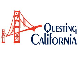 Questing California logo design