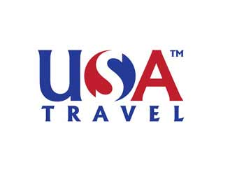 USA Travel logo design